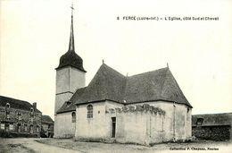 Fercé * Place De L'église * Côté Sud Et Chevet - Francia