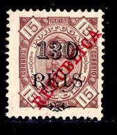 ! ! Angola - 1915 King Carlos 130 R (Perf. 11 3/4) - Af. 185a - MH - Angola