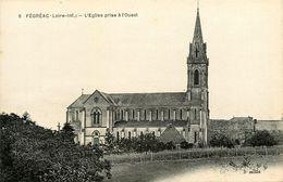 Fégréac * L'église Du Village Prise à L'ouest - Francia