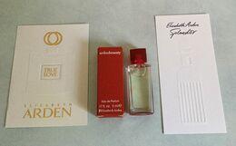 """Miniature """"ARDEN BEAUTY """" D' Elizabeth ARDEN  Eau De Parfum 5 Ml Dans Sa Boite Avec 2 Cartes - Moderne Miniaturen (ab 1961)"""