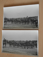 2 S/w Fotos  Parade Auf Dem  Truppenübungsplatz Konigsbrück 1937 - Documents