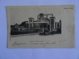 CPA  62  Saint-Omer Ascenseur Des Fontinettes Dos Simple 1903   TBE Carte Légèrement Décollée - Saint Omer