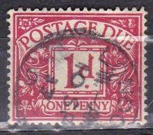 Gran Bretagna, 1914/24 - 1p Numeral - Nr.J2 Usato° - Tasse