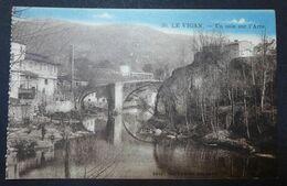 CPA - LE VIGAN (30) - Un Coin Sur L'Arre - Le Vieux-Pont - Le Vigan