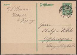 DR Ganzs.1925 Mi-Nr. P162 I  Gelaufen Stempel Göttingen 13.4.26 (Pk32) Günstige Versandkosten - Enteros Postales