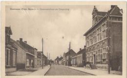 Hoevenen - Gemeentehuis En Omgeving - Uitg. Van De Vliet-Vander Steen (Behanger-Garnierder) - Stabroek