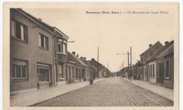 Hoevenen - Molenstraat (naar West) - Uitg. Van De Vliet-Vander Steen (Behanger-Garnierder) - Stabroek