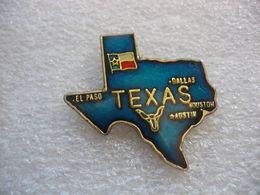 Pin's En Forme Du TEXAS - Cities