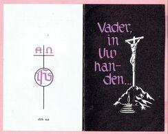 Bidprentje - August DECKX Wed.Sophia Huysmans,echtg. Louisa Ruts - Dessel 1879 - 1962 - Religione & Esoterismo
