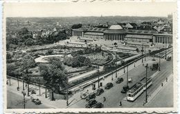 Belgique - Bruxelles - Jardin Botanique - Tramway - Dentelée - Durr Et Fils - - Vervoer (openbaar)