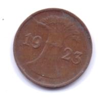 DEUTSCHES REICH 1923 E: 1 Rentenpfennig, KM 30 - [ 3] 1918-1933 : Republique De Weimar