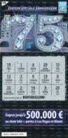 LUXEMBOURG / BILLET DE LOTERIE NATIONALE / RASPADINHA - Biglietti Della Lotteria