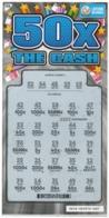 LUXEMBOURG / BILLET DE LOTERIE NATIONALE / RASPADINHA 50X THE CASH - Biglietti Della Lotteria