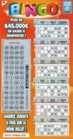 LUXEMBOURG / BILLET DE LOTERIE NATIONALE / RASPADINHA BINGO - Biglietti Della Lotteria