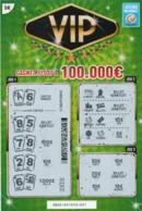 LUXEMBOURG / BILLET DE LOTERIE NATIONALE / RASPADINHA VIP - Biglietti Della Lotteria
