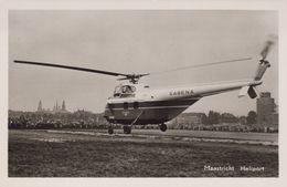 MAASTRICHT -ca 1960 - Heliport Met SABENA Helicopter - Maastricht
