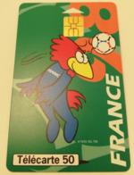 Télécarte - LE FOOTBALL - France 98 - Sport
