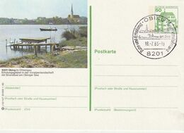 """Bundesrepublik Deutschland / 1982 / Bildpostkarte """"OBING"""" Mit Bildgleichem Stempel (CJ33) - [7] Federal Republic"""