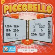 LUXEMBOURG / BILLET DE LOTERIE NATIONALE / PICCOBELLO - Biglietti Della Lotteria