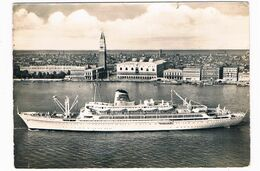 SCH-1063  T/N AUSONIA At Venezia - Paquebots