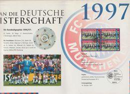 """Bundesrepublik Deutschland / 1997 / Folder Deutsche Post """"Bayern Muenchen"""" (CJ34-30) - [7] Federal Republic"""