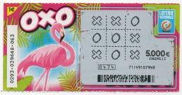 LUXEMBOURG / BILLET DE LOTERIE NATIONALE / OXO - Biglietti Della Lotteria