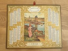 Calendrier-Almanach Des Postes PTT Et Des Télégraphes 1912 Rare Pièce De Collection Aéroport De Paris Saint Servan - Calendars