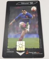 Télécarte - LE RUGBY - Titou LAMAISON - Sport