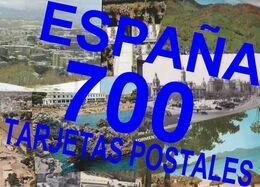 700 Tarjetas Postales De ESPAÑA - 500 Postkaarten Min.
