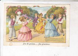 CPA  ILLUSTREE ENFANTS, JEUX DE GRACES... JEUX GRACIEUX - Szenen & Landschaften