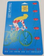 Télécarte - LE VELO - Tour De France 1996 - Sport