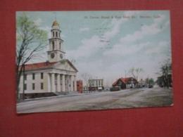 Corner Broad & East Main Street  Meriden - Connecticut   Ref 4282 - United States