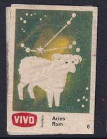 Netherland Space Weltraum Espace: Vivo Matchbox Label; Astronomy; Stars; Aries - Zündholzschachteletiketten