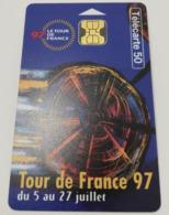 Télécarte - LE VELO - Tour De France 1997 - Sport