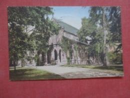 Hand Colored  Rutgers College  New Brunswick  New Jersey   Ref 4282 - Etats-Unis