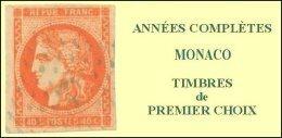 Monaco, Année Complète 2012, N° 2809 à N° 2857** Y Et T - Años Completos