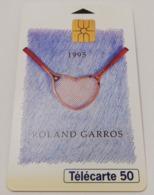 Télécarte - LE TENNIS - Rolland GARROS 1995 - Sport