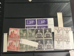 Luxembourg Blocs De 4 Neufs Très Propre Xx 1953 - Neufs