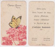 Carte Parfumée Crème Simon . Paris. - Oud (tot 1960)