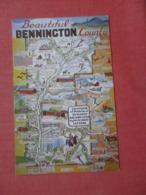 Map Bennington County - Vermont > >  Ref 4282 - Etats-Unis
