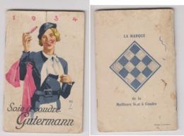 Agenda 1934 Soie A Coudre Gutermann - Calendars