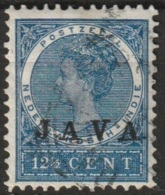 """Ned Indie 1908 Wilhelmina 12.5 Ct """"JAVA"""" NVPH 71 Gestempeld - Niederländisch-Indien"""
