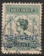 "Ned Indie Langebalkstempel ""BATOERADJA"" Op 1917 Hulpuitgifte NVPH 145 - Niederländisch-Indien"