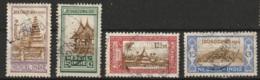 Ned Indie 1930 Jeugdzorgzegels NVPH 167-170 Gestempeld/ Cancelled - Niederländisch-Indien