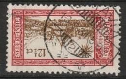 """Ned Indie Langebalkstempel Met Nummer """"BATAVIA 2"""" Op 1930 Jeugdzorgzegel NVPH 169 - Niederländisch-Indien"""