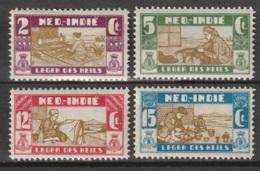Ned Indie 1932 Salvation Army - Leger Des Heils NVPH 176-179 MNH**postfris. See Description - Niederländisch-Indien