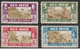 Ned Indie 1932 Salvation Army - Leger Des Heils NVPH 176-179 MH* See Description - Niederländisch-Indien