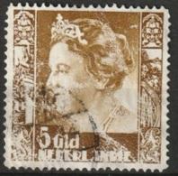 Ned Indie 1938 Wilhelmina Met Watermerk (with Watermark) NVPH 265 Gestempeld. See Description - Niederländisch-Indien