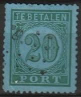 Ned Indie 1874 20ct Port  NVPH 4, 12,5:12 - Niederländisch-Indien