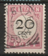 "Ned Indie Vierkantstempel ""TEMANGGOENG""op 1892 20ct Port NVPH P18 - Niederländisch-Indien"